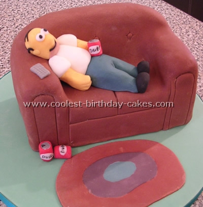 Simpsons Birthday Cake Picture