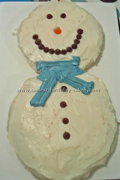Stupendous Coolest Snowman Cake Photos And How To Tips Personalised Birthday Cards Petedlily Jamesorg