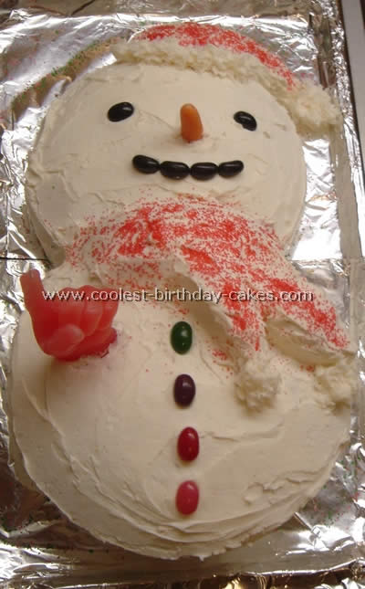 Incredible Coolest Snowman Cake Photos And How To Tips Personalised Birthday Cards Petedlily Jamesorg