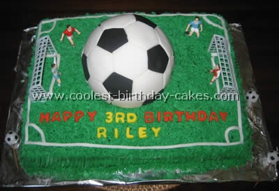 Astounding Coolest Soccer Cake Ideas To Make Awesome Soccer Cakes Funny Birthday Cards Online Inifodamsfinfo