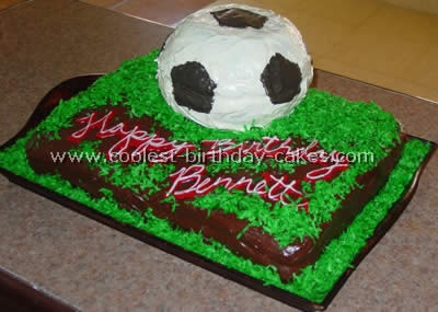 Cool Coolest Soccer Cake Ideas To Make Awesome Soccer Cakes Funny Birthday Cards Online Aboleapandamsfinfo