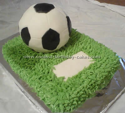 Amazing Coolest Soccer Cake Ideas To Make Awesome Soccer Cakes Funny Birthday Cards Online Aboleapandamsfinfo