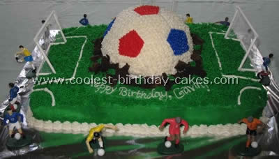 Fantastic Coolest Soccer Cake Ideas To Make Awesome Soccer Cakes Funny Birthday Cards Online Aboleapandamsfinfo