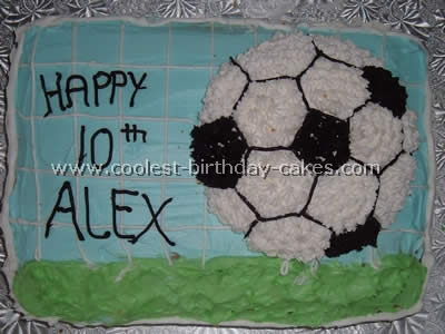 Cool Coolest Soccer Cake Ideas To Make Awesome Soccer Cakes Personalised Birthday Cards Paralily Jamesorg