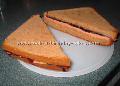 Sandwich Specialty Shaped Cake