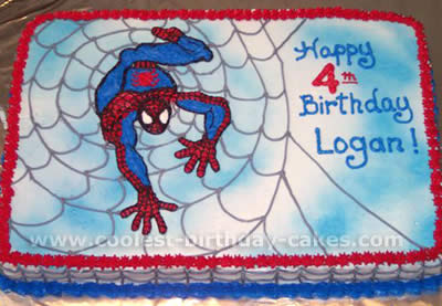 Walmart Bakery Birthday Cakes Spider Man Coolest Spiderman Cake Ideas And Decorating Tips
