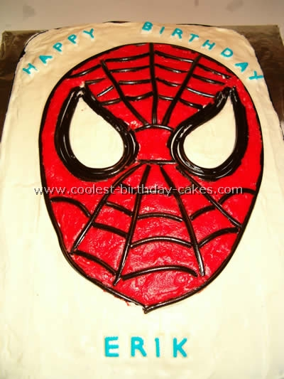 spiderman template for cake.html