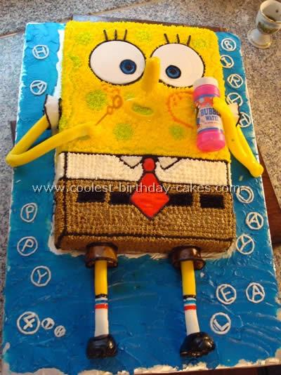 Coolest Spongebob Birthday Cake