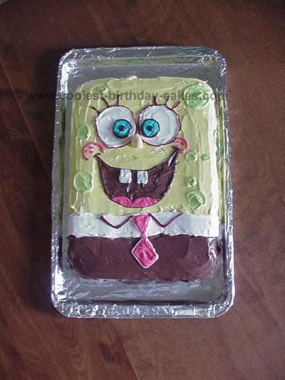 Coolest Spongebob Cakes