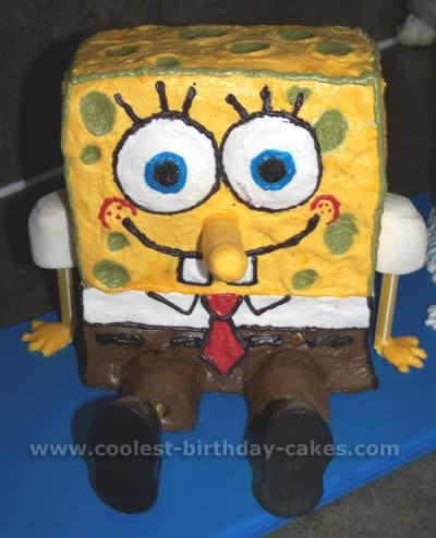 Spongebob Patrick and Friends Cake