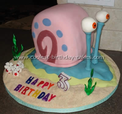 Coolest Spongebob Photo Gallery of Homemade Cakes and How-To Tips