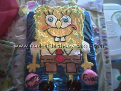 Terrific Coolest Spongebob Squarepants Cake Photos And How To Tips Funny Birthday Cards Online Alyptdamsfinfo