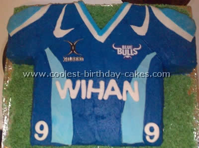 Coolest Rugby Sports Theme Cake Ideas