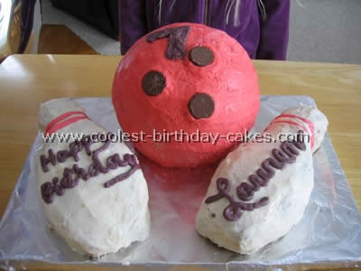 Bowling Sports Theme Cakes