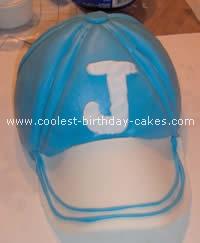 Baseball Cap Sports Cake
