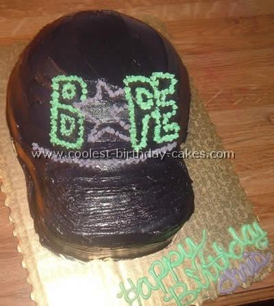 Coolest Baseball Cap Sports Cake Ideas