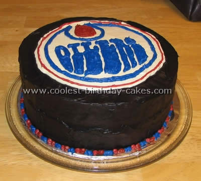 Swell Coolest Hockey Sports Cakes Personalised Birthday Cards Petedlily Jamesorg