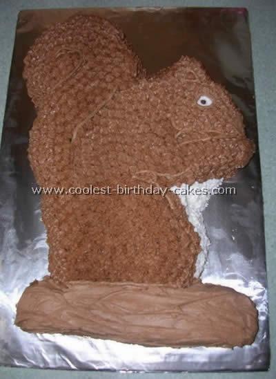Coolest Squirrel Cake Photos