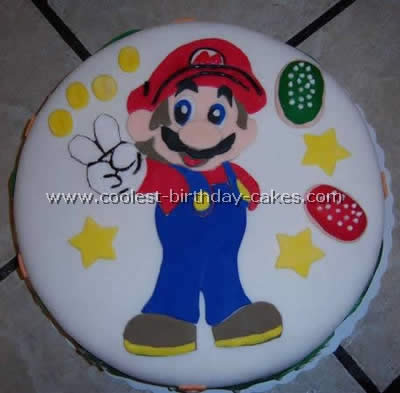 Pleasant Coolest Super Mario Brother Cakes On The Webs Largest Homemade Funny Birthday Cards Online Fluifree Goldxyz