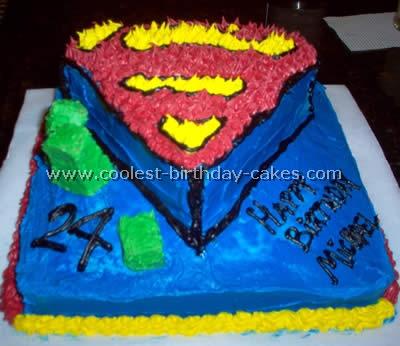 Superman Cake Photo