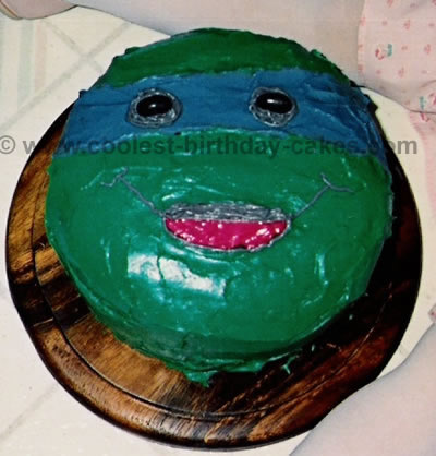 Coolest Teenage Mutant Ninja Turtles Cakes