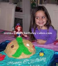 The Little Mermaid Cake Photo