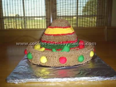 Fiesta Theme Cake