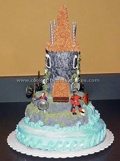 Knight's Shield Cake Photo