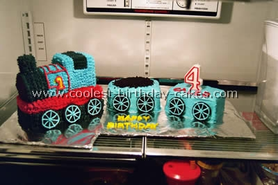 Thomas Birthday Cake Photo