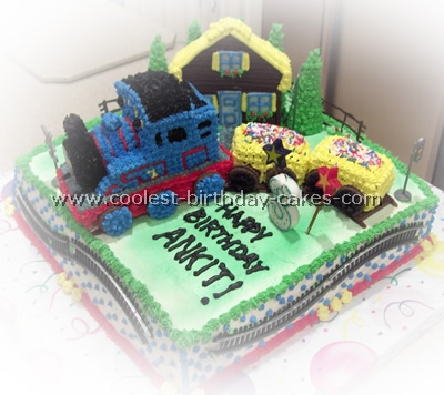 Coolest Thomas the Tank Cake Photos and Ideas