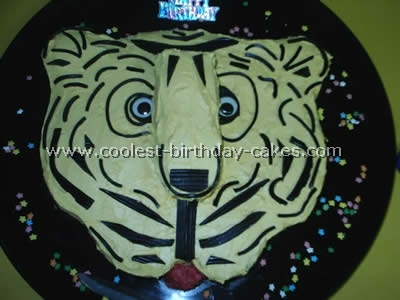 Tiger Picture Cake