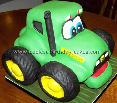 Remarkable Coolest Ever Farming Tractor Cake Ideas Personalised Birthday Cards Beptaeletsinfo