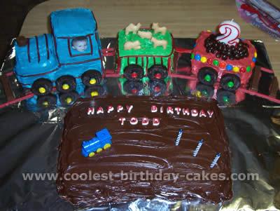 Coolest Train Birthday Cake Photos And Decorating Tutorials