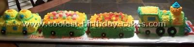 Coolest Train Birthday Cake Photos