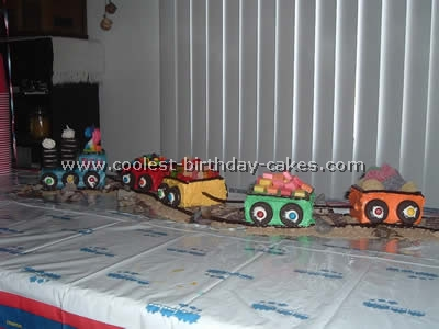 Coolest Train Birthday Cakes and Photos