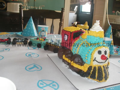 Train Birthday Cake Picture