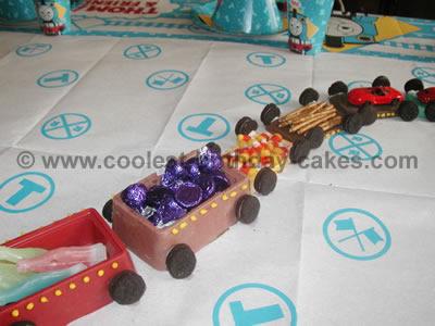 Train Birthday Cake Picture