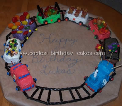 Fantastic Coolest Train Cake Photos And Tips Birthday Cards Printable Opercafe Filternl