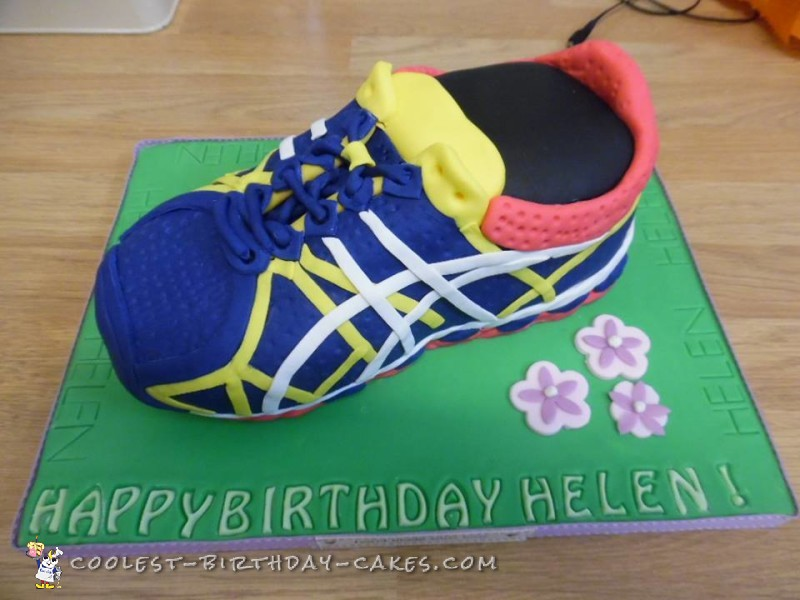 Amazing Coolest Homemade Shoes Cakes Birthday Cards Printable Benkemecafe Filternl