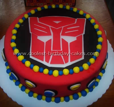 Incredible Coolest Homemade Transformers Cakes Funny Birthday Cards Online Alyptdamsfinfo