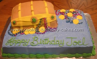 Coolest Treasure Chest Cake Photos