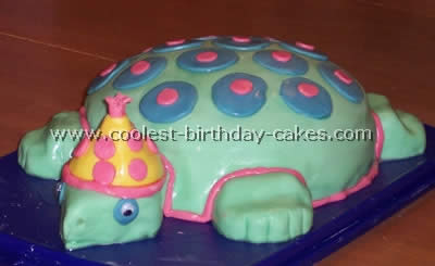 Coolest Turtle Cakes Photo Gallery