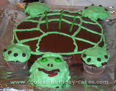 Wondrous Coolest Turtle Cakes And Other Unique Cakes Funny Birthday Cards Online Alyptdamsfinfo