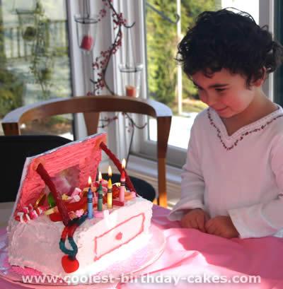Purse-Shaped Unique Birthday Cake