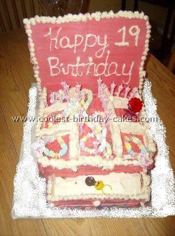 Jewelry Box Unique Birthday Cake