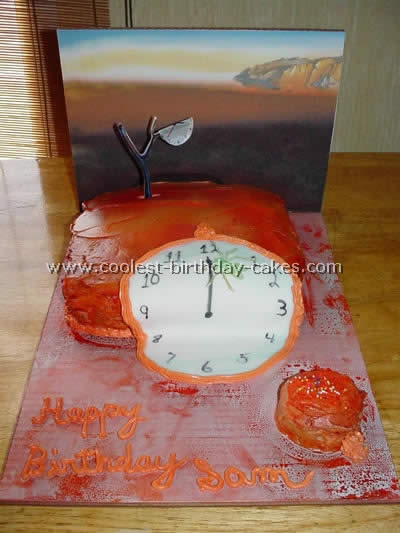 Astounding Unusual Birthday Cakes Inspired By Famous Paintings Funny Birthday Cards Online Hendilapandamsfinfo