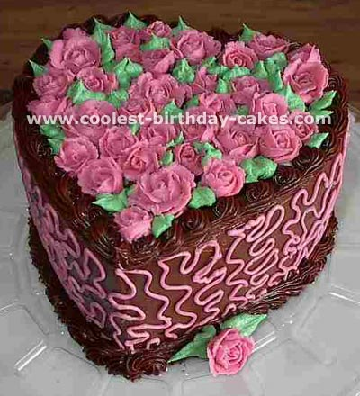 Phenomenal Romantic Homemade Valentine Cakes And How To Tips Funny Birthday Cards Online Elaedamsfinfo