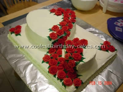 Fine Romantic Homemade Valentine Cakes And How To Tips Funny Birthday Cards Online Fluifree Goldxyz