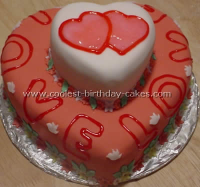 Incredible Romantic Homemade Valentine Cakes And How To Tips Funny Birthday Cards Online Fluifree Goldxyz