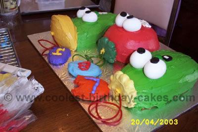 Veggie Tale Cake Photo
